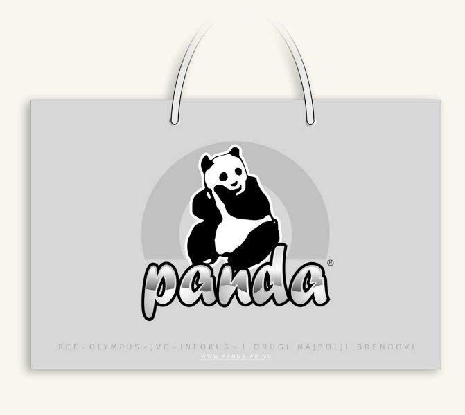 idejno rešenje kese / Panda, Crna Gora