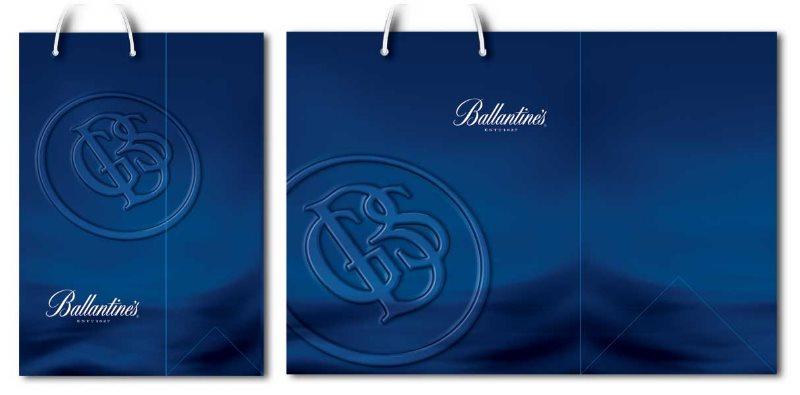 idejno rešenje (dizajn) za kese / Pernod (Ballantines)