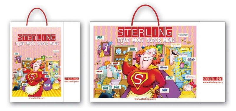 idejno rešenje (dizajn) za kese / Sterling