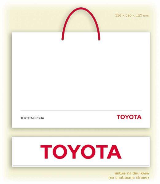 idejno rešenje (dizajn) za kese / Toyota