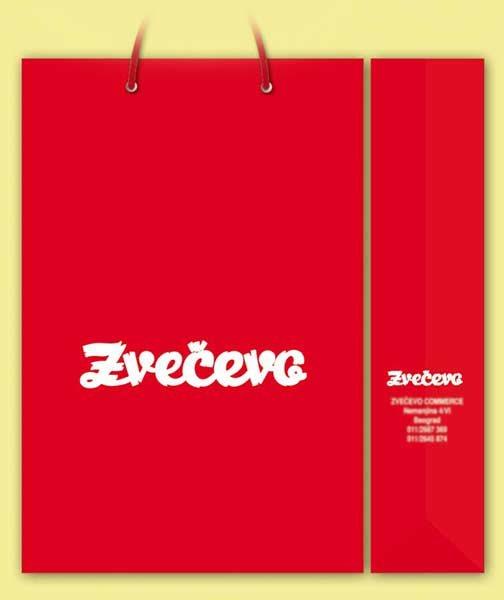 idejno rešenje (dizajn) za kese / Zvecevo (Hrvatska)