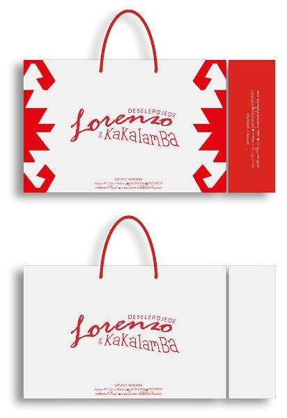 idejno rešenje (dizajn) za kese / lorenzo i kakalamba