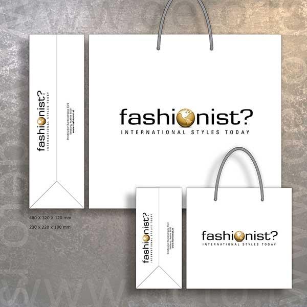 Fashionist Austria - butik kese XXL i XB (idejno rešenje)
