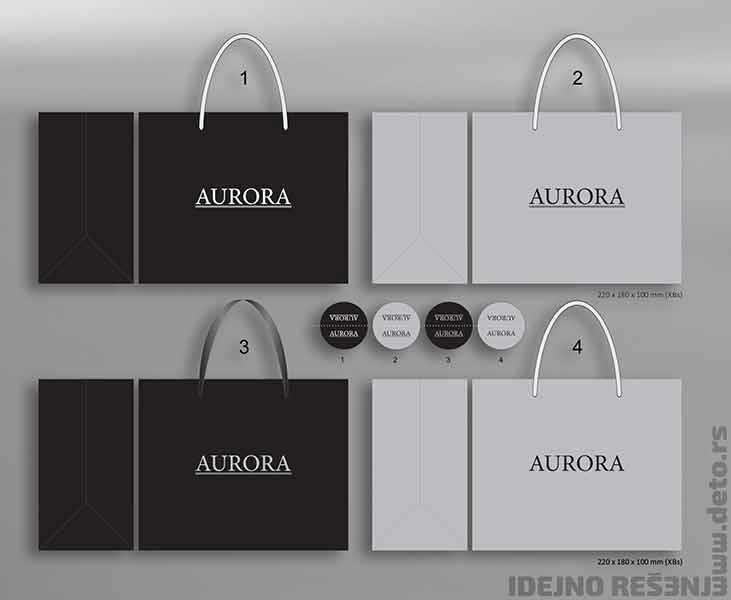 Aurora / ekskluzivne kese + nalepnice