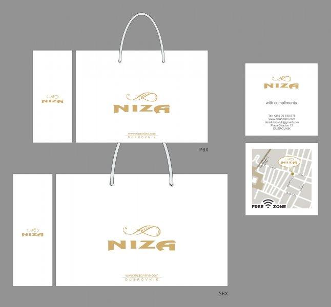 Niza (Dubrovnik, Hrvatska) / Kese i Compliment kartice
