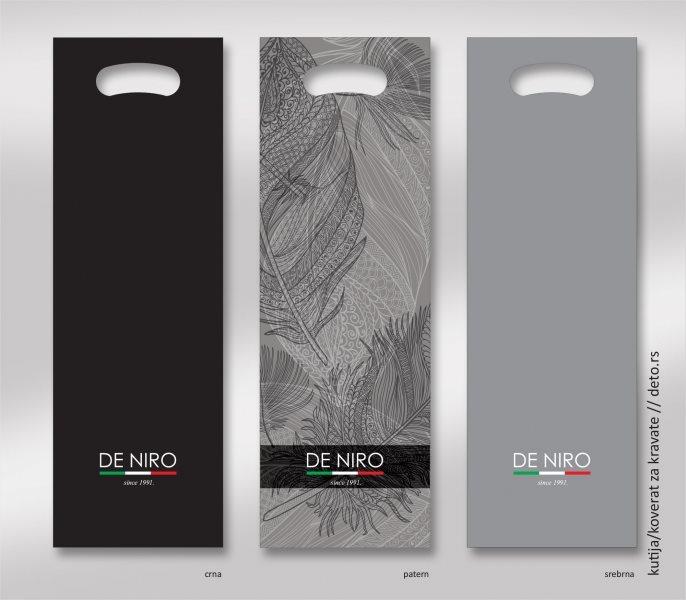 De Niro / kutije-kese za kravate