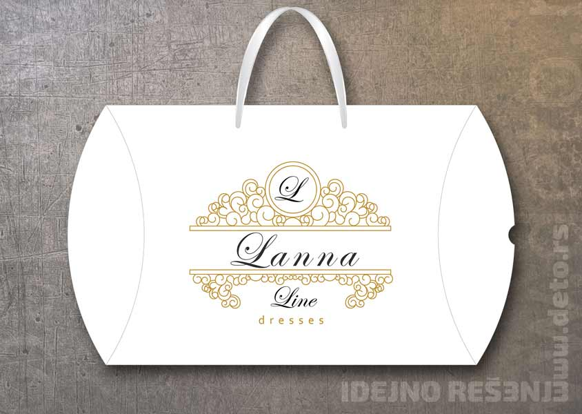 XL pillow box, model XL3 / Lanna