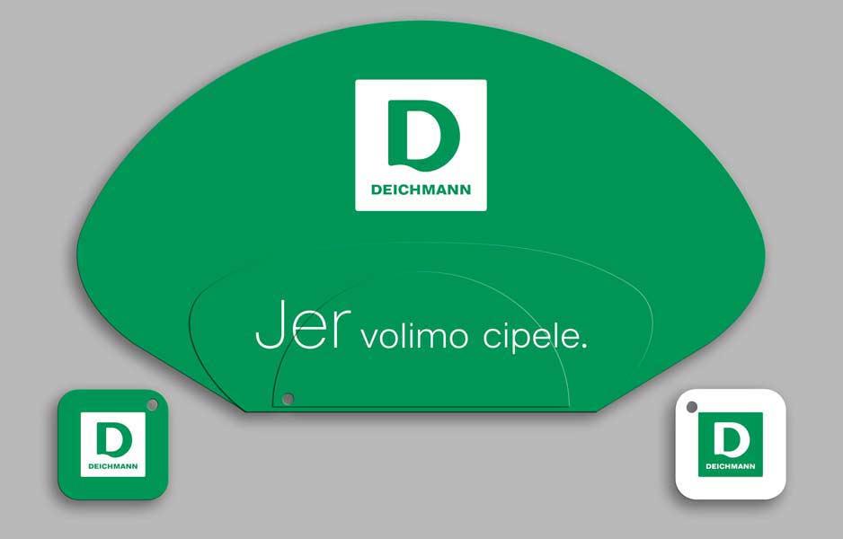 Deichmann / promo lepeza