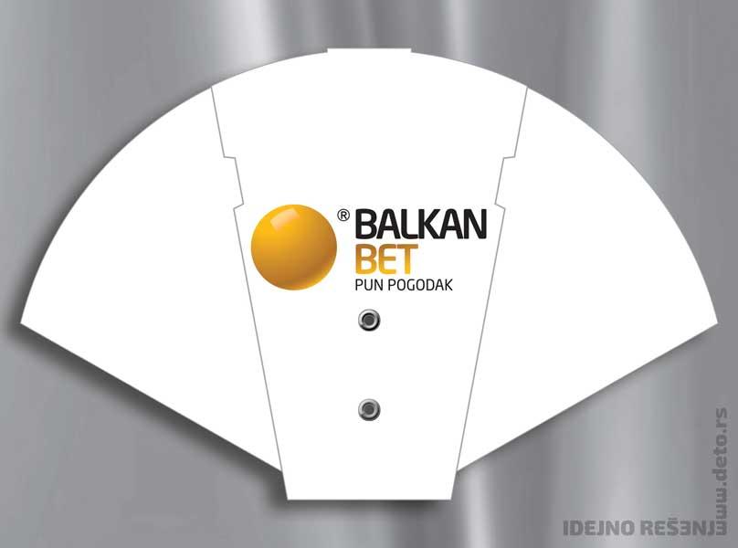 Balkan Bet / reklamne lepeze