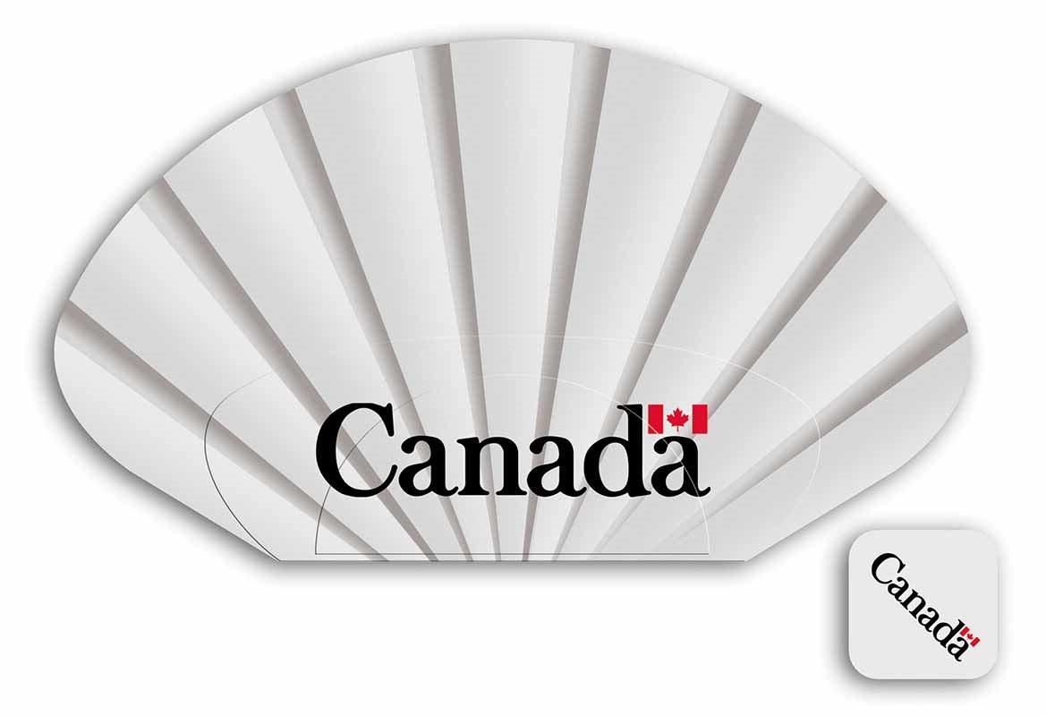 """idejno rešenje lepeze """"Canada"""""""