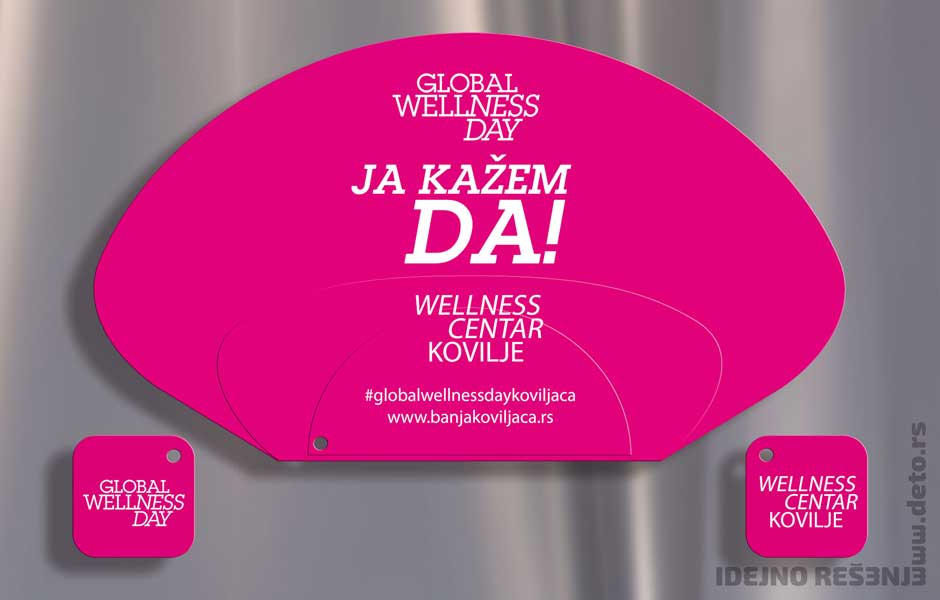 Welness centar Kovilje (Global Wellness Day) / reklamne lepeze