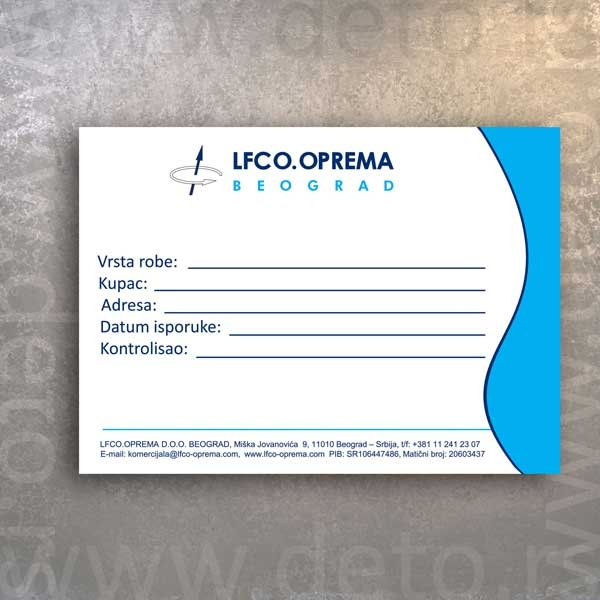 LFCO - nalepnice