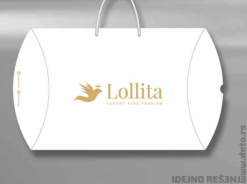 Lollita kids fashion /  XL pillow box -