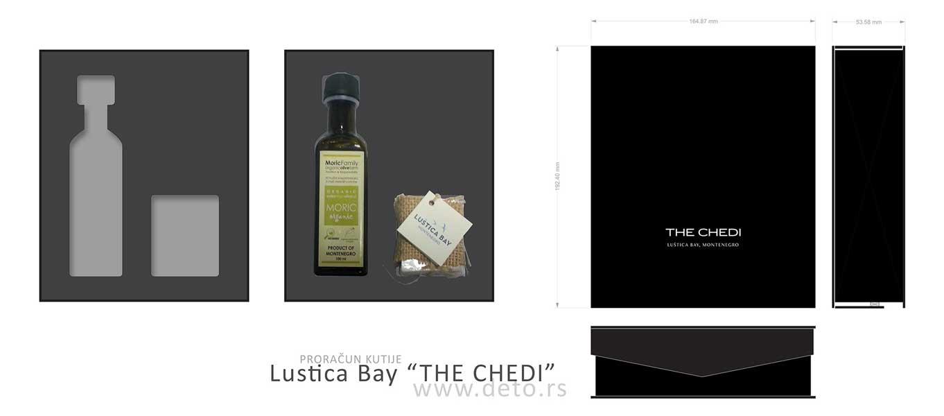 Luštica Bay / rešenje luksuzne kutije sa uloškom (demo)