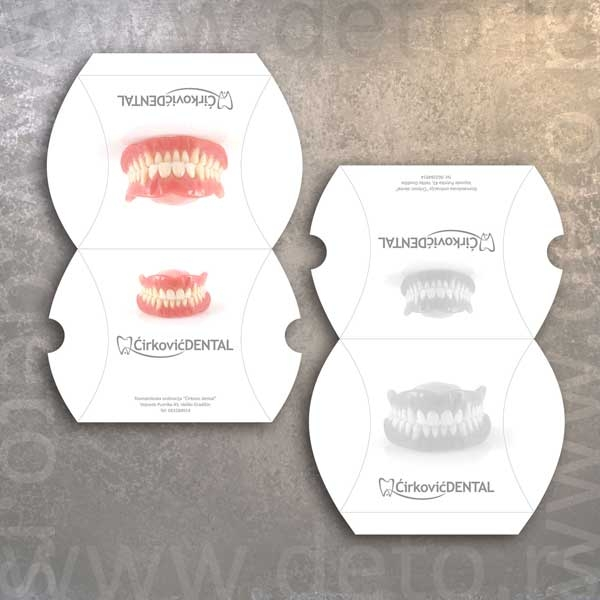 Ćirković Dental - pillow box