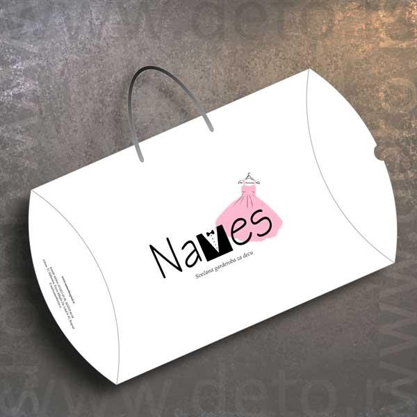 Names, svečana garderoba za decu - XL Pillow Box, model XL2
