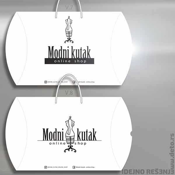 Modni kutak / xl pillow box