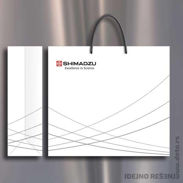 Shimadzu / reklamne kese xxl
