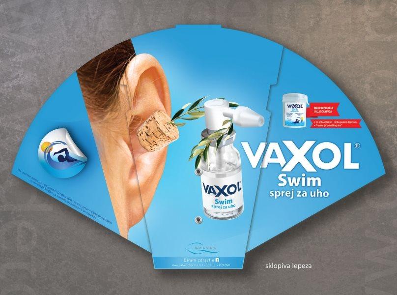 Vaxol - sklopiva lepeza