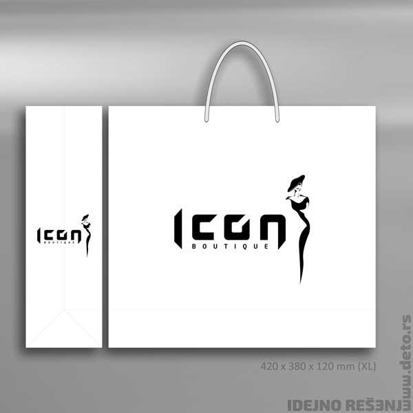 Icon (Crna Gora) / Reklamne kese