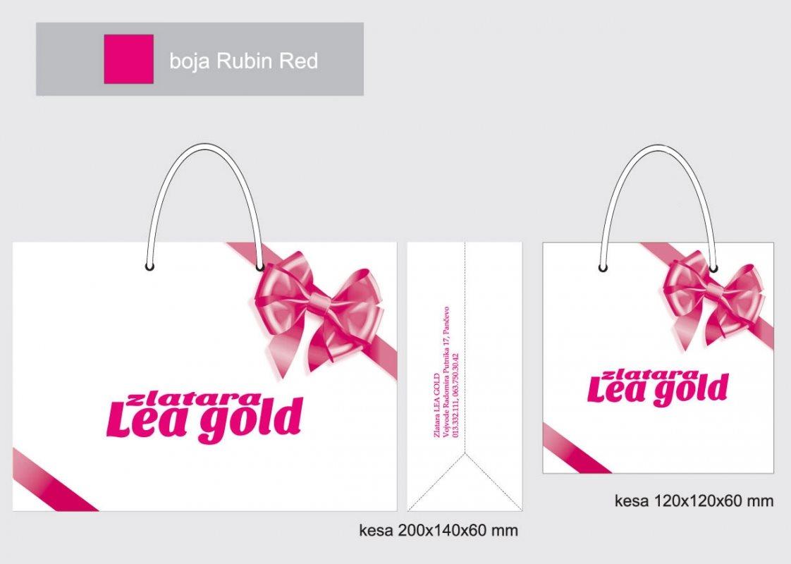 Zlatara Lea gold, PB kesa u jednoj boji