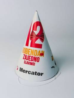 "Promo dečija kartonska kapa ""Merkator"""