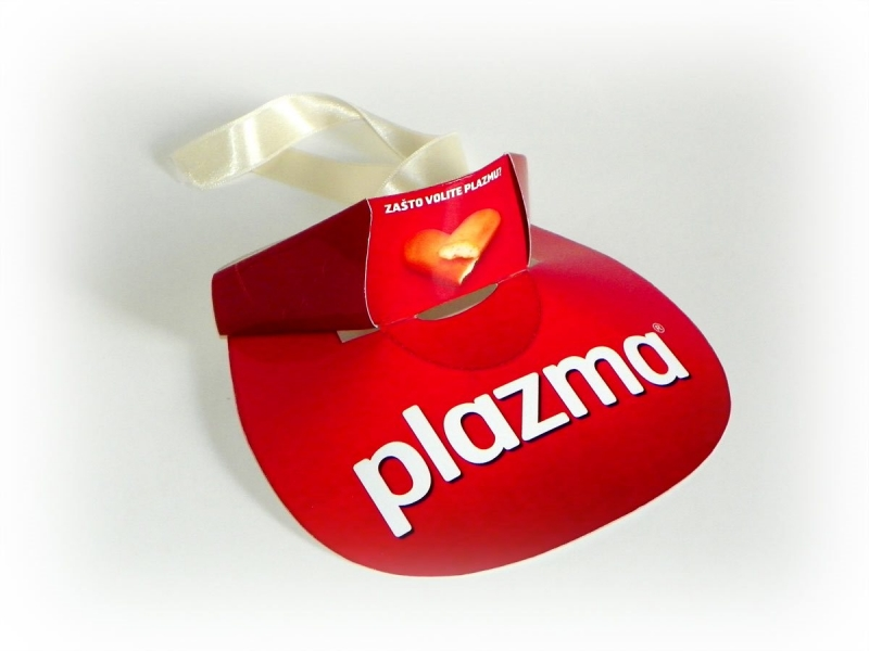 """Promo visor - i (širiti) """"Plazma"""""""