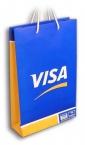 "reklamne kese ""Visa"", plastificirane kese sa štampom"