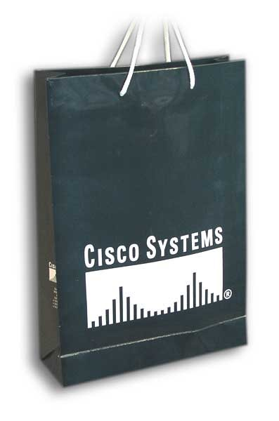 cisco sistems / reklamna kesa