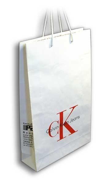 ck-jeans / reklamne papirne kese
