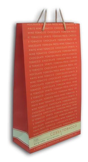 cobra tobaco / reklamne papirne kese