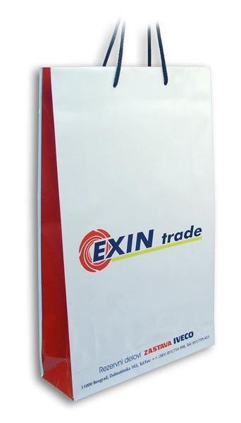 exin / plastificirane kese sa štampom