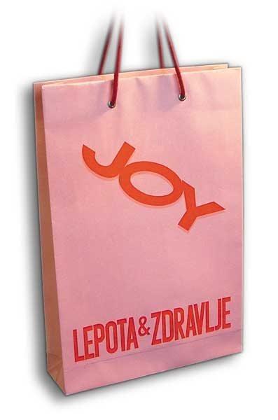 Joy / ekskluzivna reklamna papirna kesa