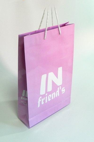 In Friends / papirne reklamne kese / Herceg novi, Crna Gora