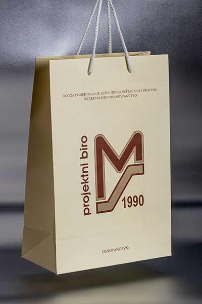 Papirne kese / Projektni biro MS 1990