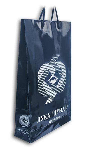 luka-dunav / reklamna papirna kesa