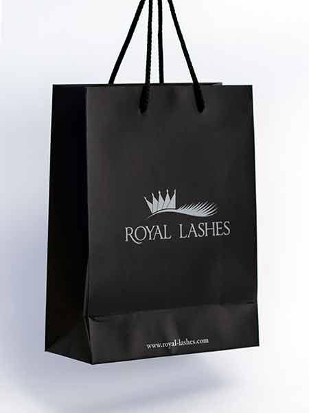 "Luksuzna reklamna kesa, model ""Mb"" / Royal Lashes (Hrvatska)"