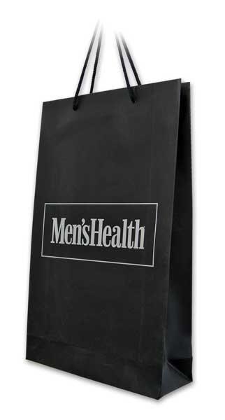mens health / reklamne papirne kese