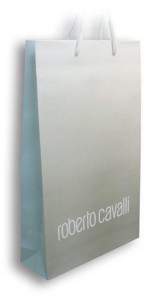 roberto_cavalli / ekslkuzivna reklamna papirna kesa