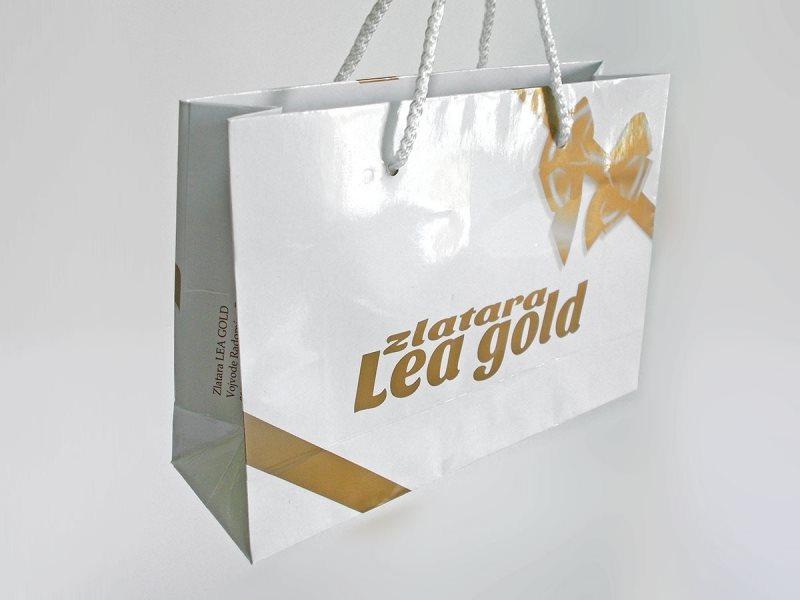 kesa 260x170x60mm / Lea Gold