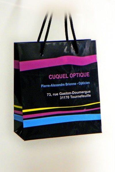 "Reklamna kesa - ""Couquel Optique"", Tournefeuille, Francuska"