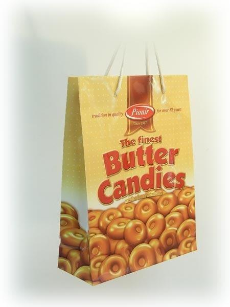 "Kesa - ""Pionir - Butter Candies"", Subotica, dimenzije: 230 x 220 x 100 (model XB)"