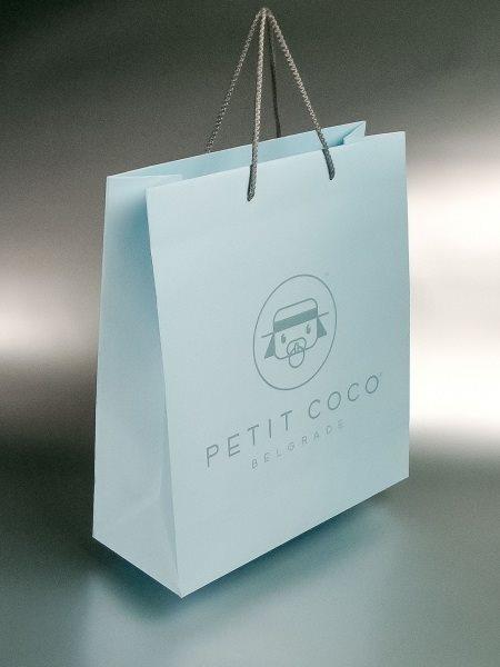 "reklamna kesa - ""Petit Coco""/ dimenzije: 230 x 220 x 100 (model XB)"