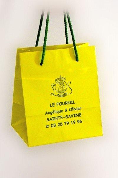 """reklamna kesa """"Le Fournil"""", Saint-Savine, Francuska"""