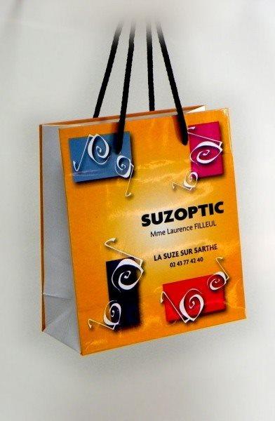 "Reklamna kesa - ""Suzoptic"", La Suze Sur Sarthe, Francuska"