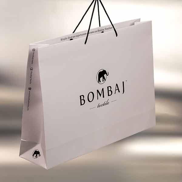 XL luksuzna papirna kesa / Bombaj Textile