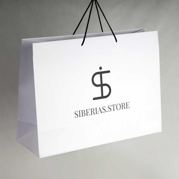 Promo papirne kese, model XXL / Siberias.Store