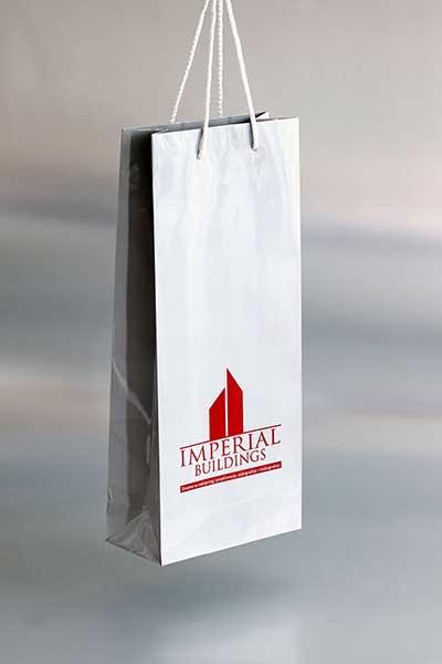 """Ekskluzivna papirna kesa za piće """"Imperijal Buildings"""""""