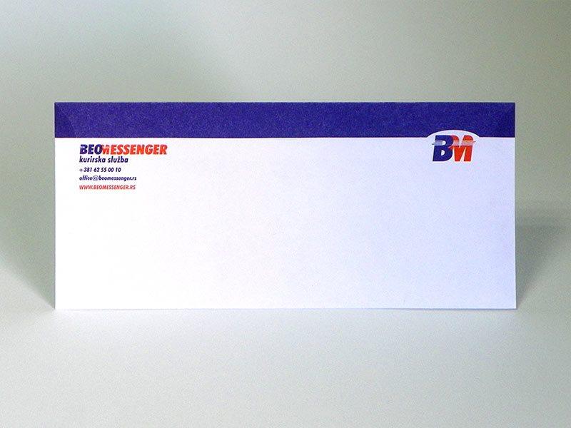 ameriken koverti - Beomessenger