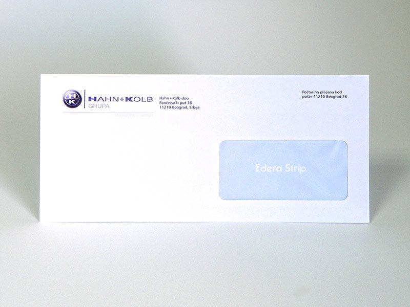 ameriken koverti - Hahn + Kolb